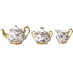Royal Albert - Three piece '100 Years of ' 1940 English Chintz tea set