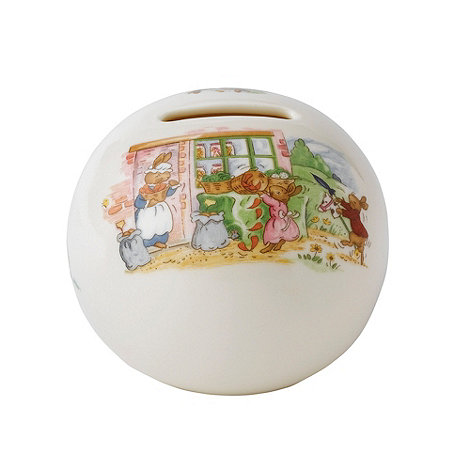 Bunnykins By Royal Doulton - Christening money ball - +Bunnykins+