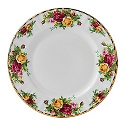 Royal Albert - Large red 'Old Country Rose' plate