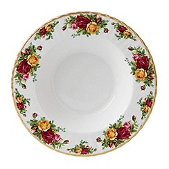 Royal Albert - Red 'Old Country Rose' soup bowl