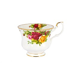 Royal Albert - Red 'Old Country Rose' teacup