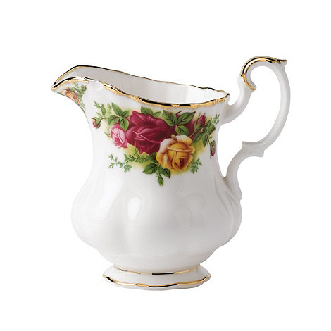 Royal Albert - Red +Old Country Rose+ cream jug
