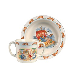 Bunnykins By Royal Doulton - 'Bunnykins Nurseryware' 3 piece baby set