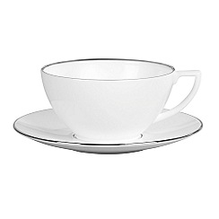 Jasper Conran at Wedgwood - Small 'Platinum' white tea cup