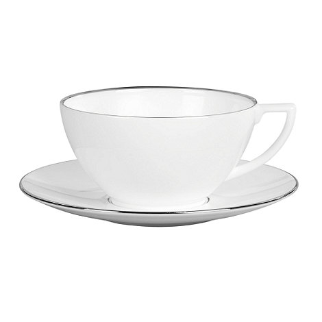 Jasper Conran at Wedgwood - Small +Platinum+ white tea cup