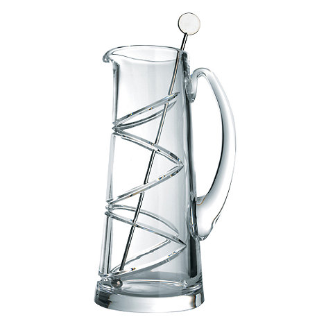 Jasper Conran at Waterford Crystal - 24% lead crystal +Aura+ martini jug