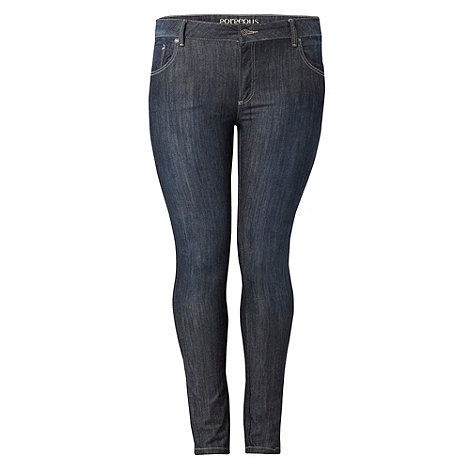Gorgeous - Blue slim leg jeans