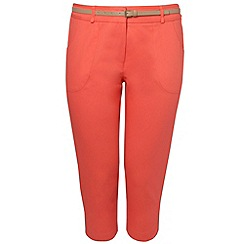 Gorgeous - Dark orange chino trousers