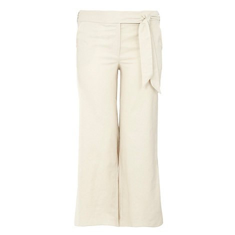 Gorgeous - Neutral wide leg trousers