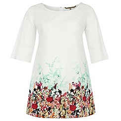 Gorgeous - White petal border tunic