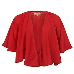 Gorgeous - Red chiffon occasion jacket