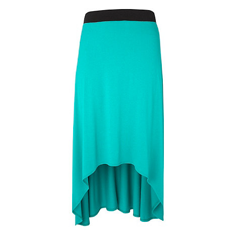 Gorgeous - Green jersey maxi skirt