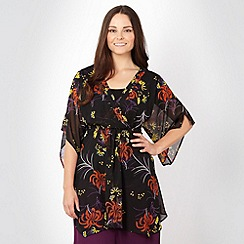 Gorgeous - Black oriental kimono
