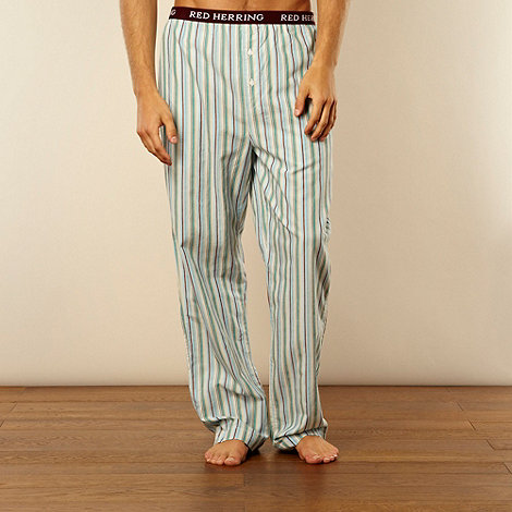 Red Herring - Green multi striped loungewear trousers
