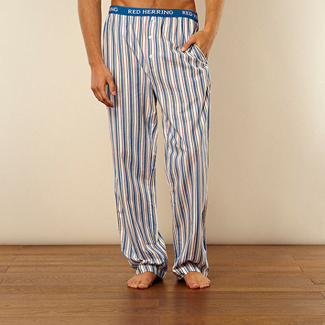 Red Herring - Blue multi striped loungewear trousers