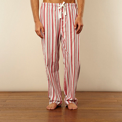 Red Herring - Red multi striped loungewear trousers