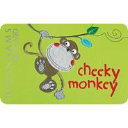 Cheeky monkey gift card