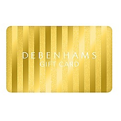 Debenhams - Xmas Gold Stripe Gift Card