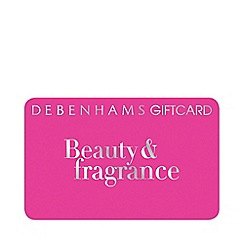 Debenhams - Pink Beauty & Fragrance gift card