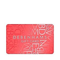 Debenhams - Coral gift card