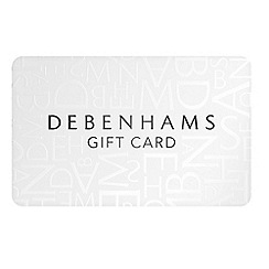 Debenhams - White gift card
