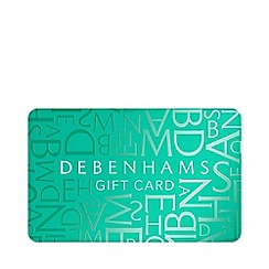 Debenhams - Teal gift card