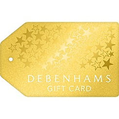 Debenhams - Xmas Gold Tag Gift Card
