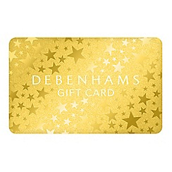 Debenhams - Christmas Gold Stars Gift Card
