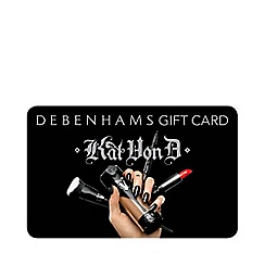 Debenhams - Kat Von D Christmas Gift Card