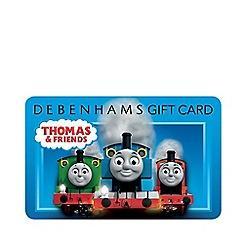 Debenhams - Thomas and Friends Gift Card