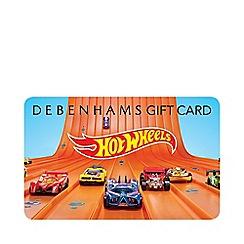 Debenhams - Hot Wheels Gift Card