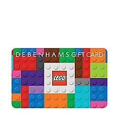 Debenhams - Lego Gift Card