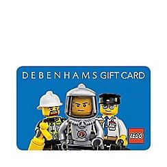 Debenhams - Lego City Gift Card