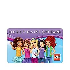 Debenhams - Lego Friends Gift Card