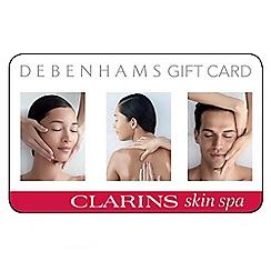 Clarins - Skin Spa gift card