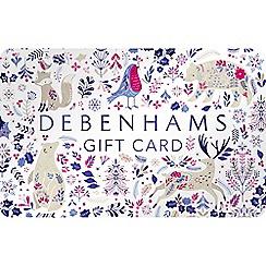 Debenhams - Animals gift card