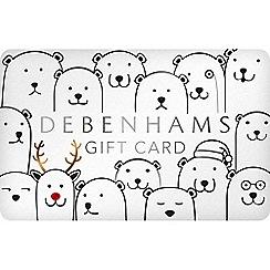 Debenhams - Polar bears gift card