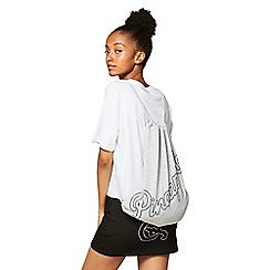 Miss Selfridge - Pineapple drawstring bag