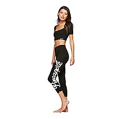 Miss Selfridge - Pineapple capri bold logo leggings