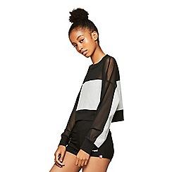 Miss Selfridge - Mesh panel sweatshirt