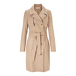 Miss Selfridge - Leather trench coat
