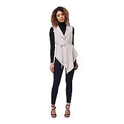 Miss Selfridge - High low waist coat