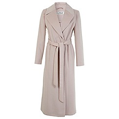 Miss Selfridge - Pink maxi coat