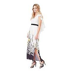Miss Selfridge - Floral border maxi dress