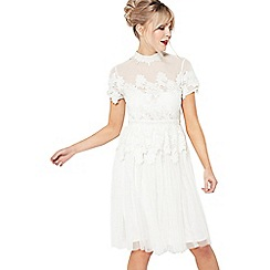 Miss Selfridge - Holly lace tulle dress