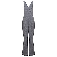 Miss Selfridge - Grey salt and pepper jumpsuit