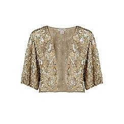 Miss Selfridge - Silver embellished jacket