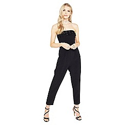 Miss Selfridge - Embellished neckline jumpsuit