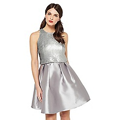 Miss Selfridge - Sequin 2 in 1 prom dress
