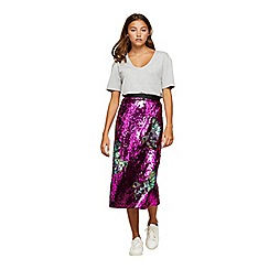 Miss Selfridge - Premium sequin skirt